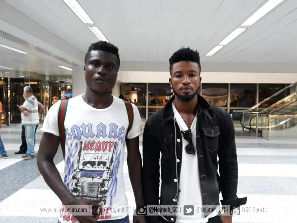 EXCLUSIVE: Bernard Arthur, Tuffour Frimpong land in Lebanon ahead of Nejmeh SC switch