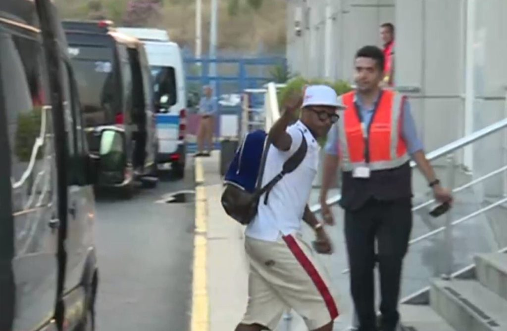 PHOTOS: See pictures of Andre Ayew arriving in Turkey to sign Fenerbahce deal