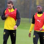 Ghanaian youngster Denzeil Boadu warms bench for Borussia Dortmund in victory over Manchester City in ICC