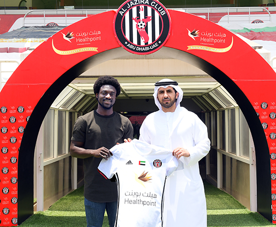 EXCLUSIVE: Ghanaian winger Ernest Asante joins UAE side Al Jazira