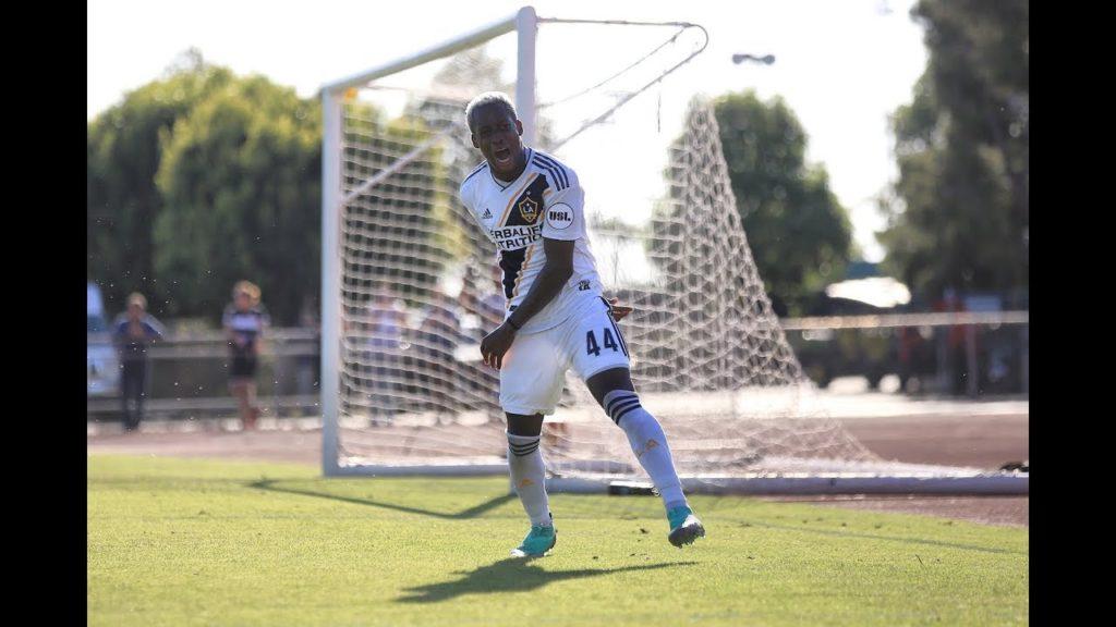 Geoffrey Acheampong picks red card in LA Galaxy II victory over Orange County SC