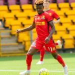 Godsway Donyoh named in FC Nordsjælland squad to face Partizan Belgrade after injury recovery