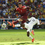 Jonathan Mensah reveals how Daniel Opare helped him exchange jersey with Cristiano Ronaldo