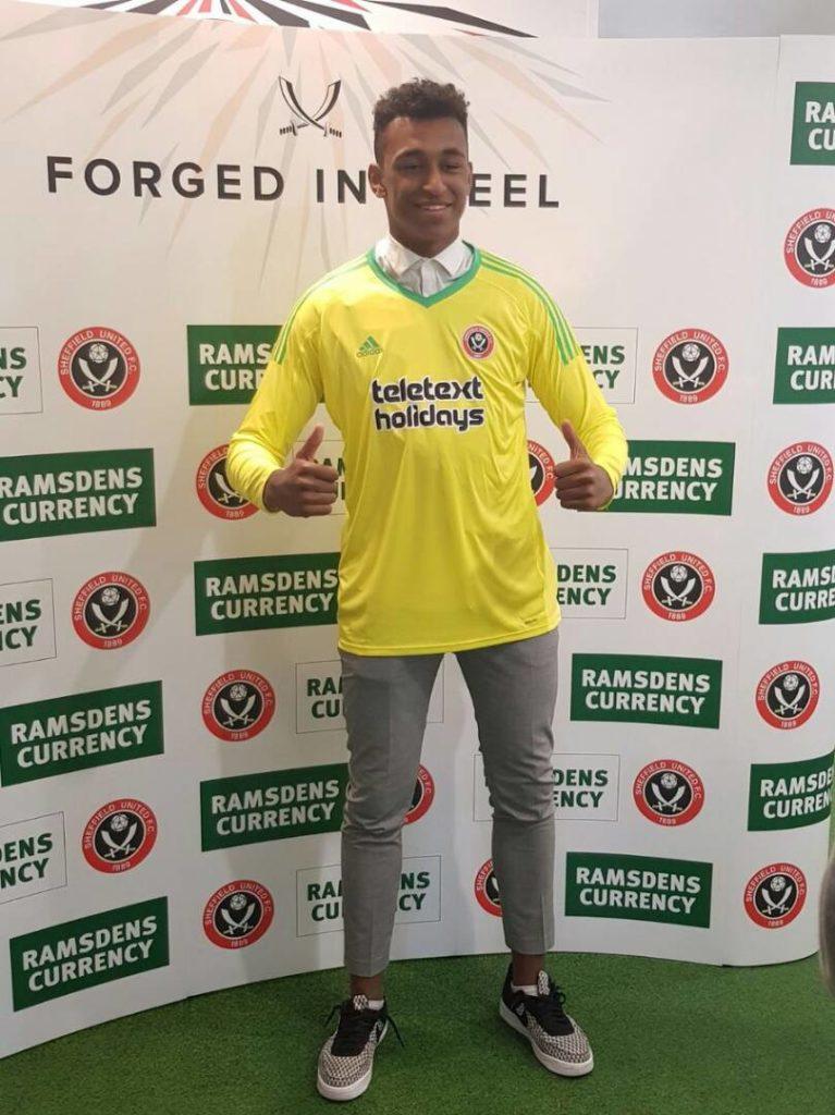 PHOTOS: Budding goalkeeper Jordan Amissah completes Sheffield United switch