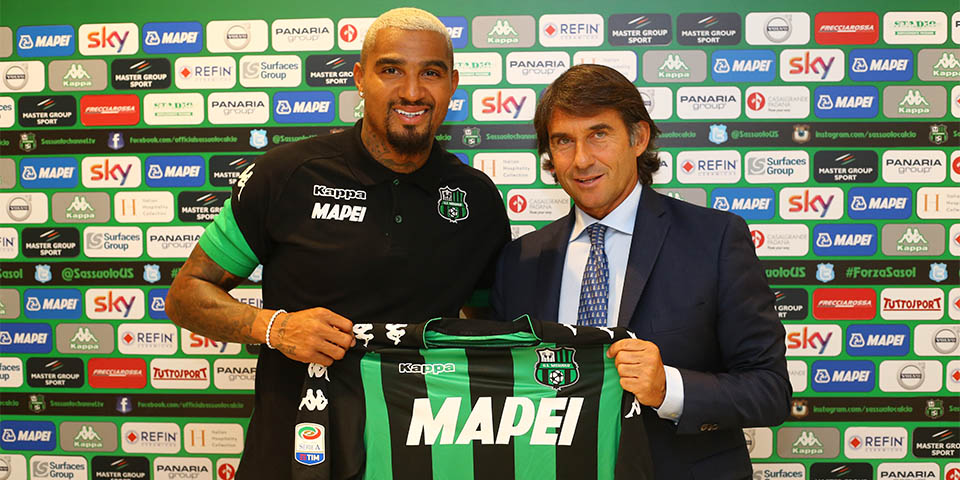 Image result for prince boateng sassuolo