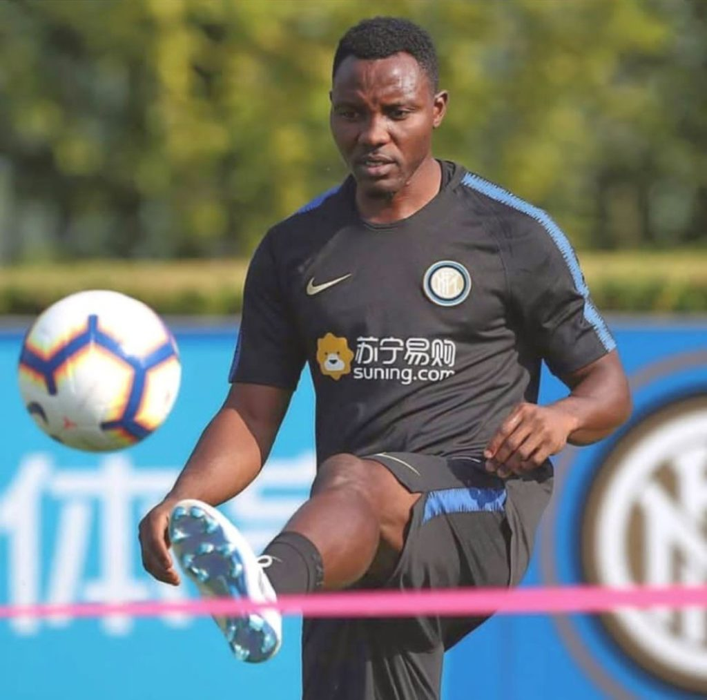 Inter Milan midfielder Kwadwo Asamoah braces up for Ronaldo battle