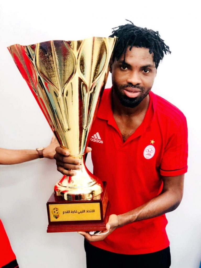 Former Hearts of Oak forward Kwame Kizito helps Al Ittihad win Libyan Cup