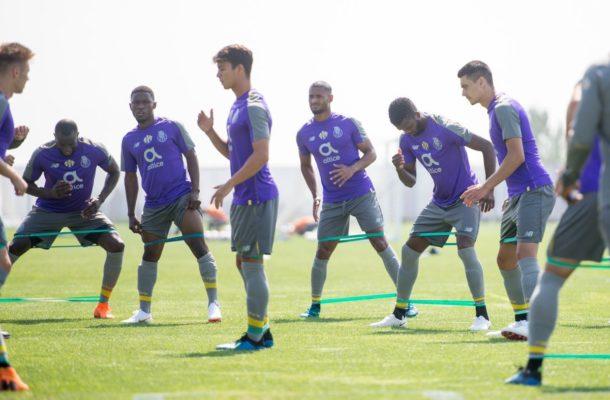 Ghana\'s Majeed Waris reports for FC Porto\'s pre-season training