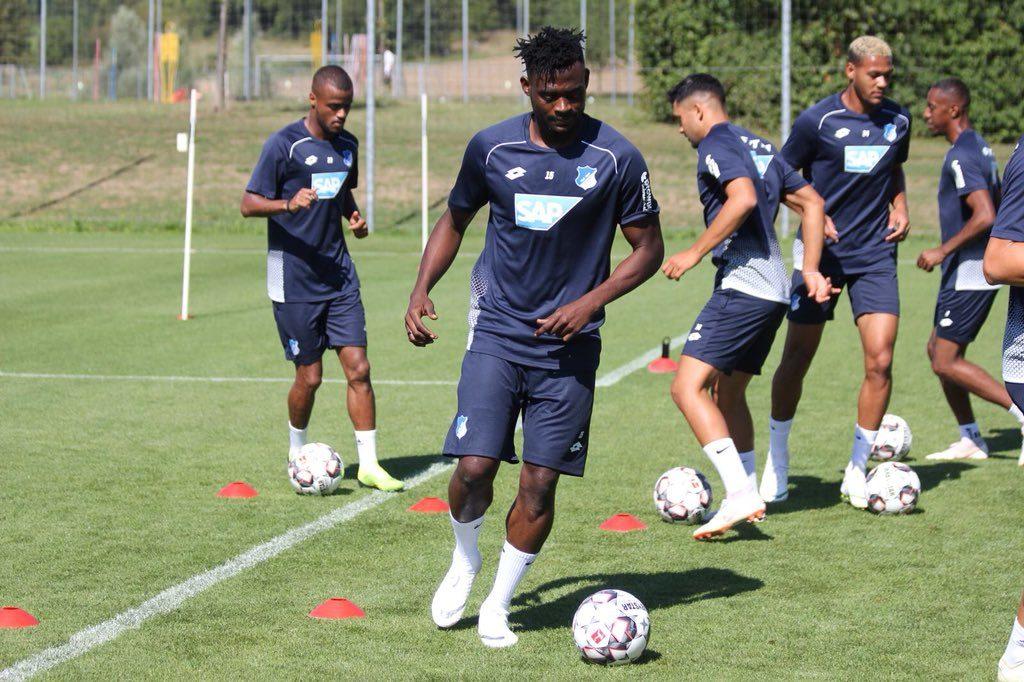 Video: Ghana defender Kassim Nuhu delighted as he takes part in his first Hoffenheim training