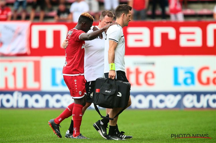 EXCLUSIVE: Blow for Royal Antwerp as Daniel Opare suffers serious knee injury in pre-season
