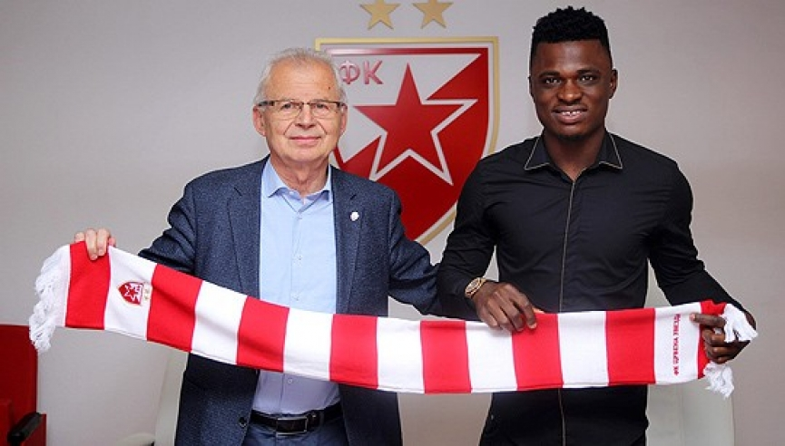 Ghana defender Rashid Sumaila set to make competitive debut for Red Star Belgrade today