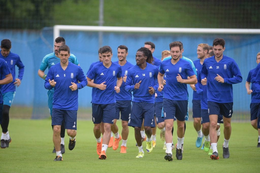 Real Oviedo midfielder Ramón Folch counts on Boateng's goalscoring prowess ahead of upcoming season