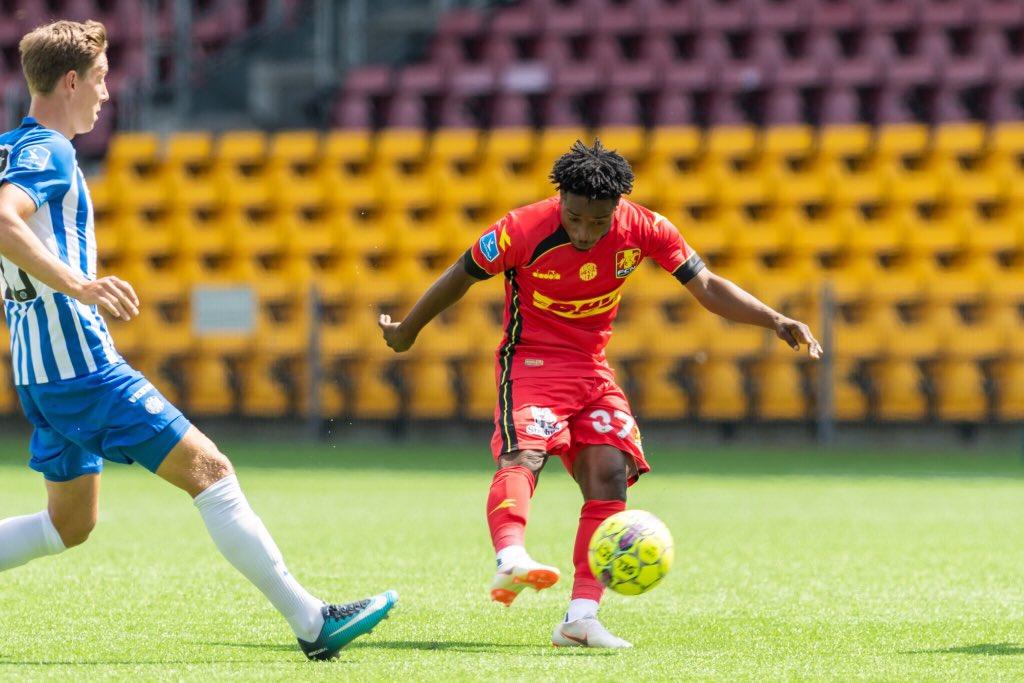 Ghana teenager Ibrahim Sadiq debuts for Nordsjaelland in the Danish Superliga