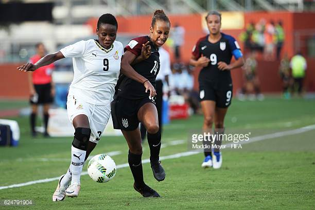 Black Princesses forward Sandra Owusu-Anasah targets quarter finals berth at World Cup