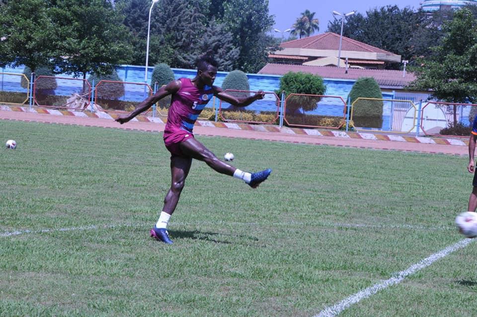 Ghana International Samuel Sarfo begins pre-season training with Saipa FC