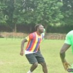 Ghana ace Sulley Muntari plays for Hearts of Oak in victory over Bechem United