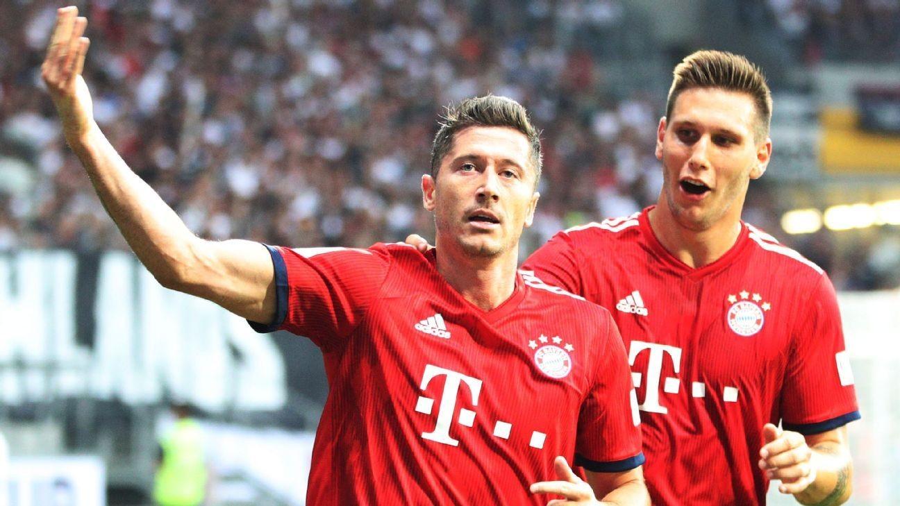 Hat-trick hero Robert Lewandowski paces Bayern to blowout German Cup victory