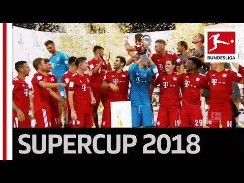 FC Bayern München Trophy Lifting - 2018 Supercup
