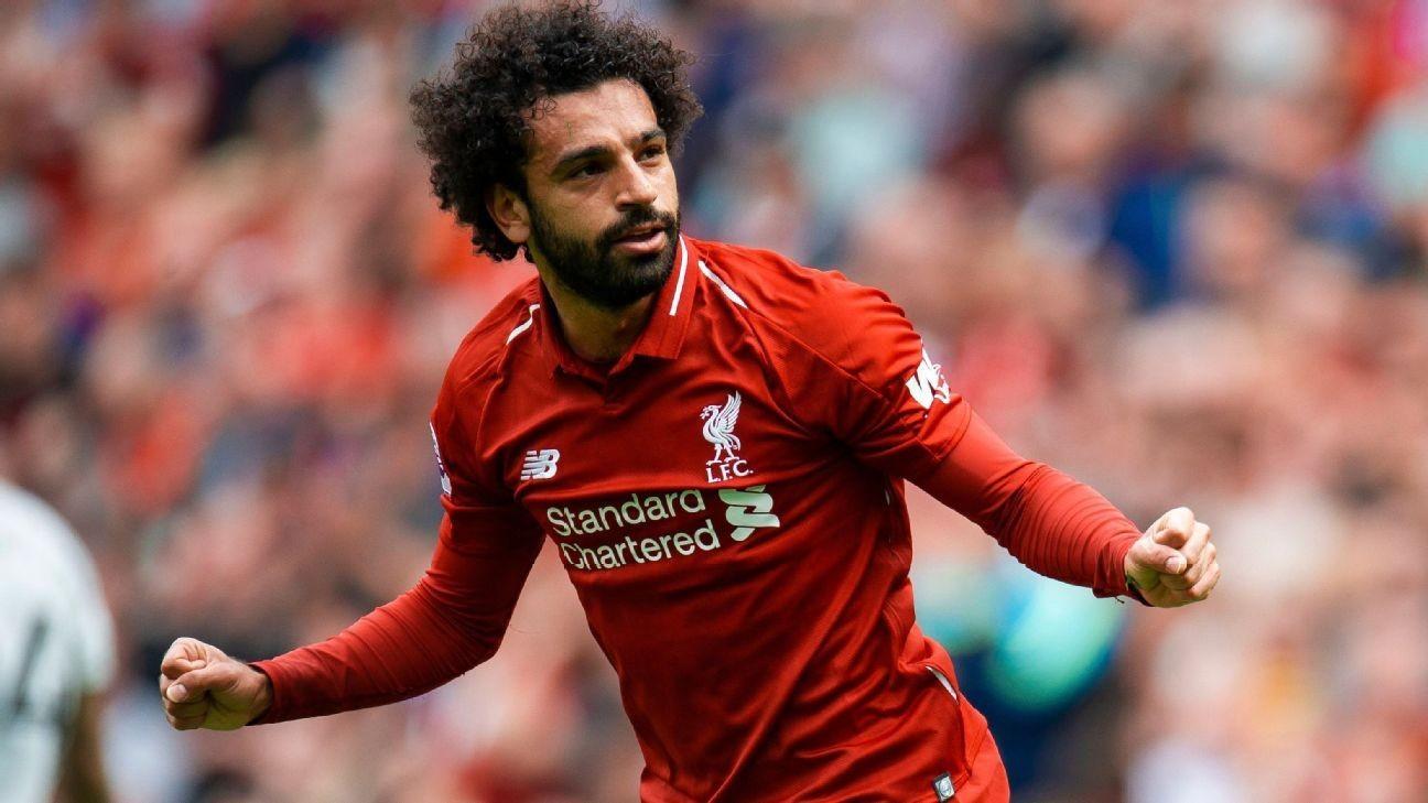 f4d57ce48fb Mohamed Salah the leader, Virgil van Dijk leads seven new faces at Liverpool