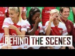 Behind the scenes at Arsenal Women's 2018/19 photocall