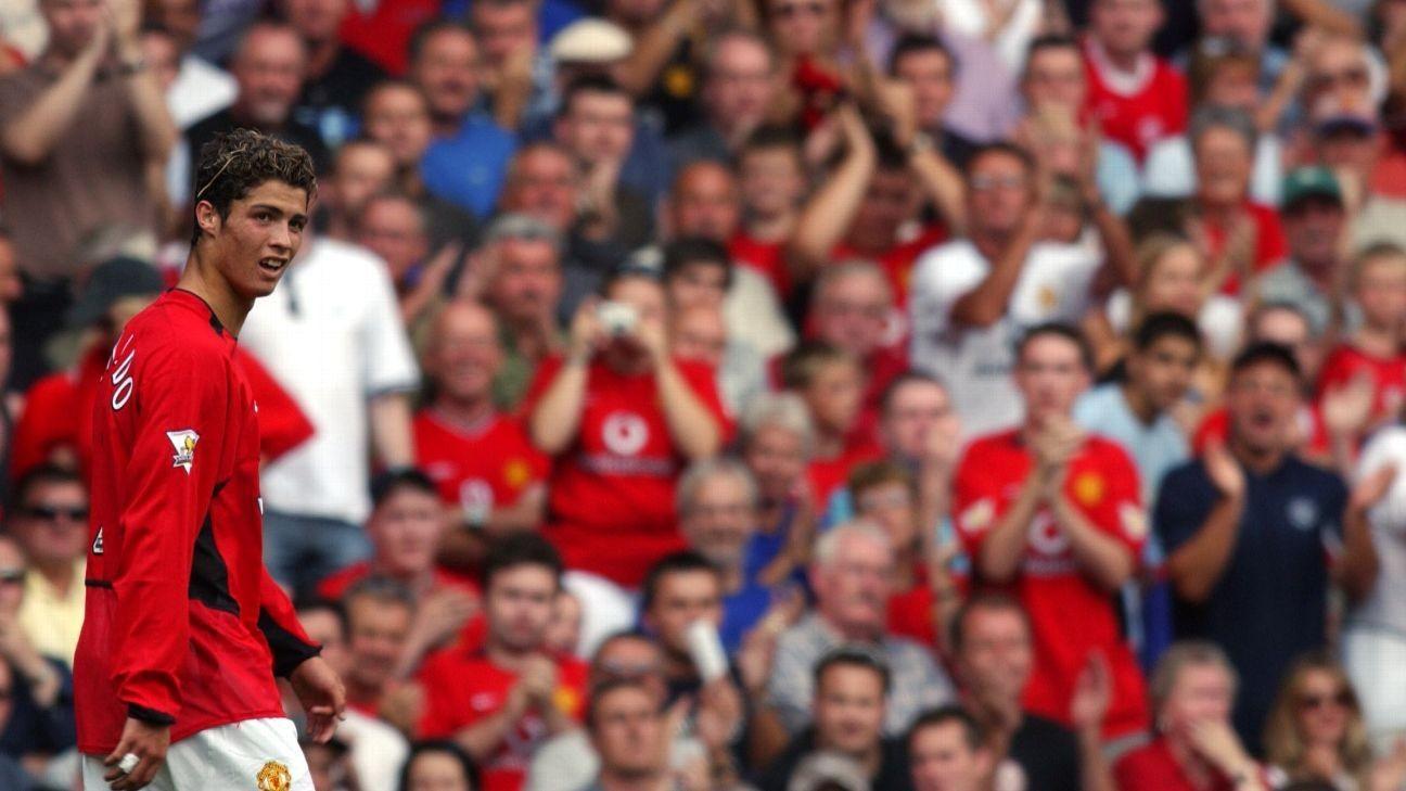 Flashback to Cristiano Ronaldo's Manchester United debut vs. Bolton