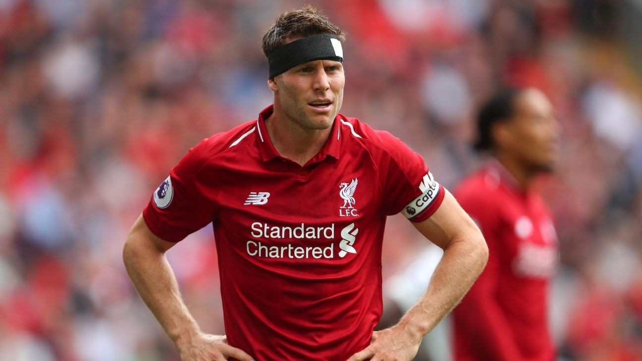 Liverpool's James Milner: Expectations should be high, we ...