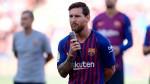 Barcelona's Lionel Messi makes Champions League pledge in captain's speech