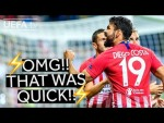 COSTA, ATLÉTICO, SUPER CUP: The quickest goals in UEFA competitions!
