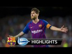 Barcelona vs Alaves 3-0 - All Goals & Extended Highlights - La Liga 18/08/2018 HD
