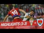 Resumen de Córdoba CF vs CD Numancia (3-3)