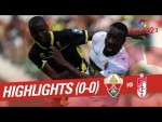 Resumen de Elche CF vs Granada CF (0-0)
