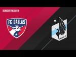 HIGHLIGHTS: FC Dallas vs. Minnesota United FC | August 18, 2018