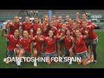 #DareToShine for Spain - FIFA U-20 Women's World Cup France 2018
