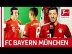 Behind The Scenes at FC Bayern München - James, Müller, Lewandowski & More