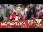 Resumen de Athletic Club vs CD Leganés (2-1)
