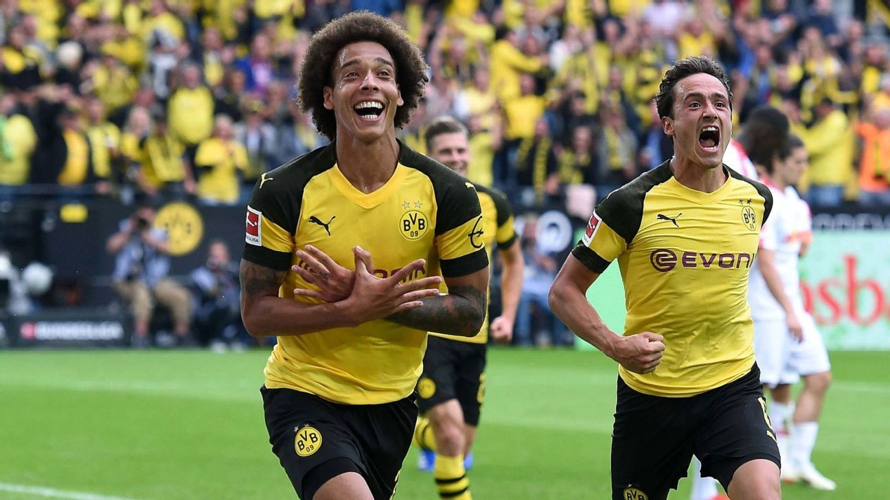 borussia dortmund 39 s axel witsel has quickly emerged as a leader in midfield ghanasoccernet news. Black Bedroom Furniture Sets. Home Design Ideas