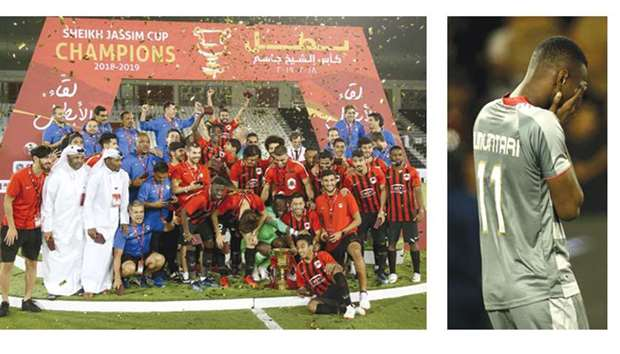 Ghanaian striker Mohamed Muntari misses penalty as Al Duhail fail to win Sheikh Jassim Cup