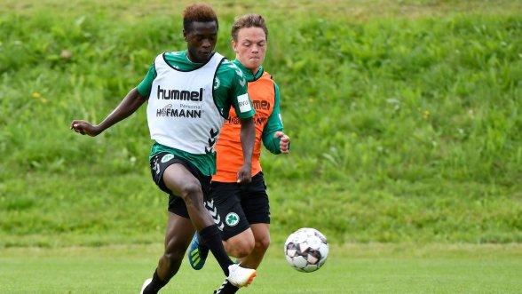 Shamrock newcomer Atanga: On a sporty journey