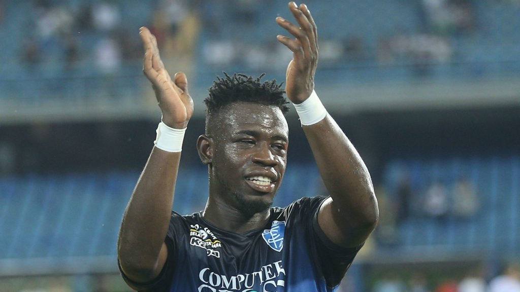 Former Torino midfielder Afriyie Acquah happy following Empoli's win
