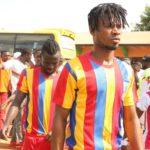 Hearts defender Benjamin Agyare recovers from waist injury ahead of Kotoko clash