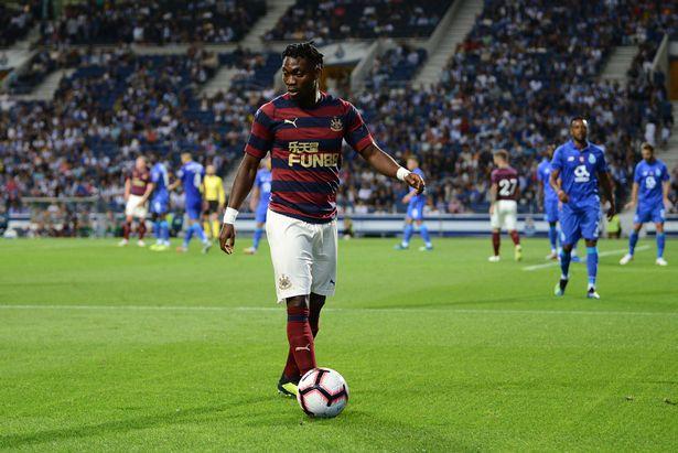 Newcastle United wideman Christian Atsu wants to score more goals this season
