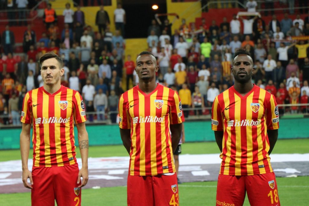 Bernard Mensah savors opening day victory with Kayserispor in Turkey Super Lig