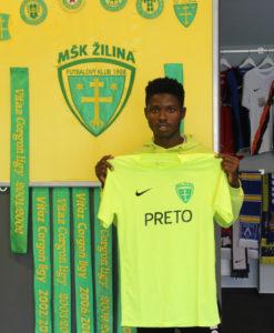 EXCLUSIVE: Ghanaian youngster Benson Anang joins Slovakian giants MŠK Žilina