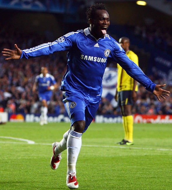 VIDEO: Top five Michael Essien goals that made him a legend at Chelsea