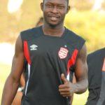 Ghanaian forward Derrick Sasraku enjoys first training session with Tunisian giants Club Africain