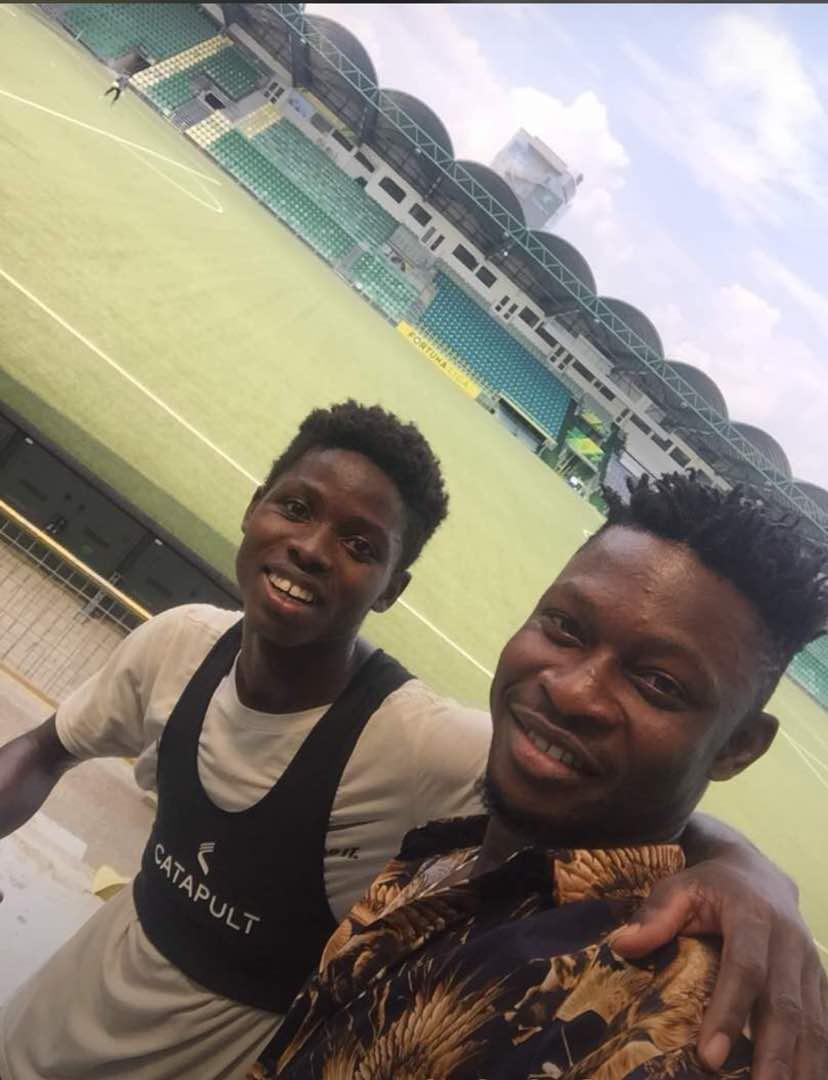 Derrick Sasraku turns to Club African after breakdown talks with MSK Zilina