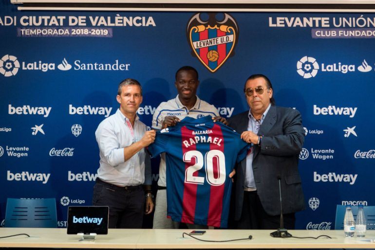 Ghana forward Raphael Dwamena insists Levante will help him develop as a footballer