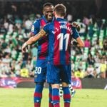 Levante forward Raphael Dwamena happy with opening day victory against Betis
