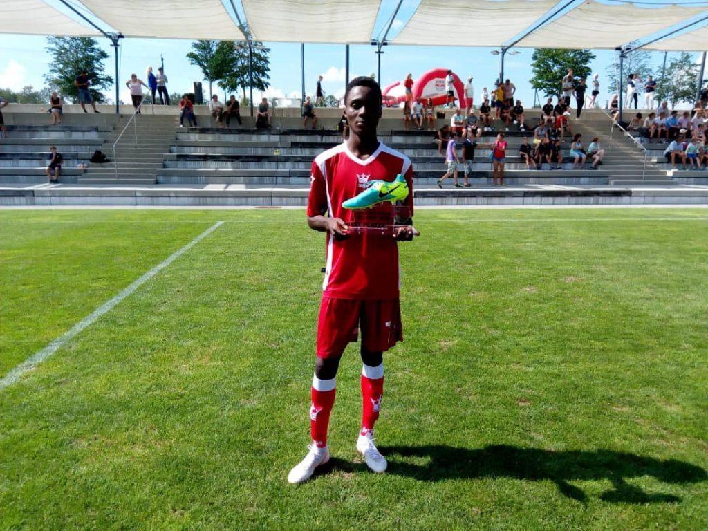 WAFA kid Daniel Owusu wins Best Player Award at 2018 Next Generation Trophy