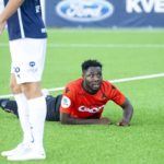 Asane FC Ghanaian striker Dennis Antwi feels 'hurt' over recent goal-drought in Norwegian second-tier